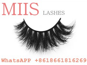 custom box mink lashes