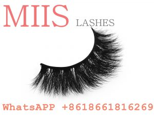 top quality customed packaging lashes